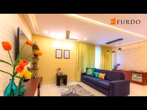 Interior Design in Bangalore: FURDO DESIGN | Brigade Cosmopolis | 3BHK