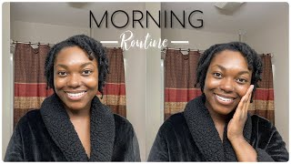 Morning Skincare And Loc Routine | Naomi Onlae