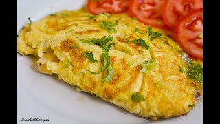 Cheese Omelette / Easy  Breakfast Recipe / by Bluebellrecipes