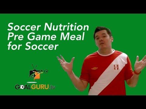 Tips for Soccer: Pre Game Meal for Soccer Games