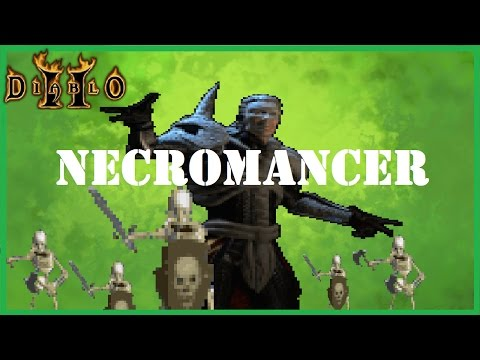 Diablo 2:  Necromancer Summoner vs Uber Tristram