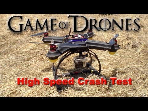 Epic Drone Crash Test - Game of Drones