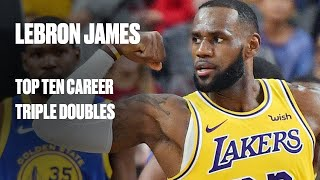 B/R Countdown: LeBron James All-Time Triple Double Performances
