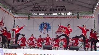 Чувашский танец на Сабантуе
