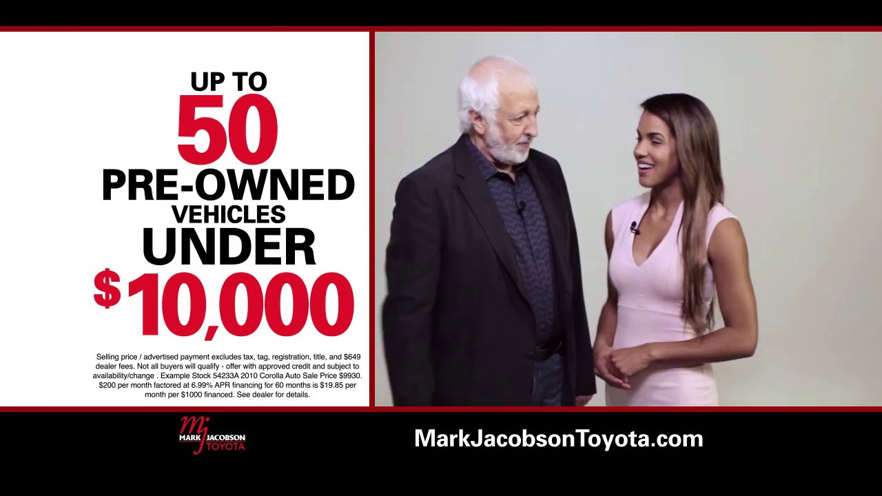 Mark Jacobson Toyota Indoor Preowned Super Where We Say Yes In Every Language