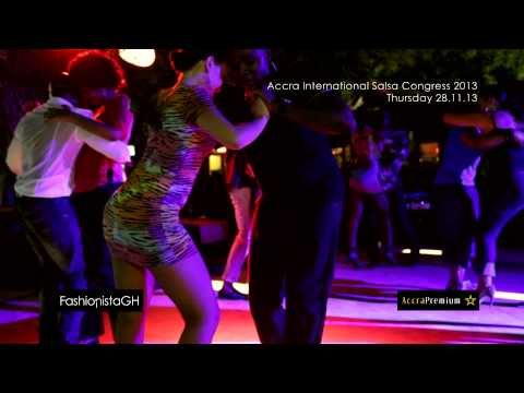 Accra International Salsa Congress _ Dancing Session _ #fghTV