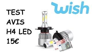 TEST Ampoule H4 LED Partie 1: Le Mauvais modèle pour Ampoule H4