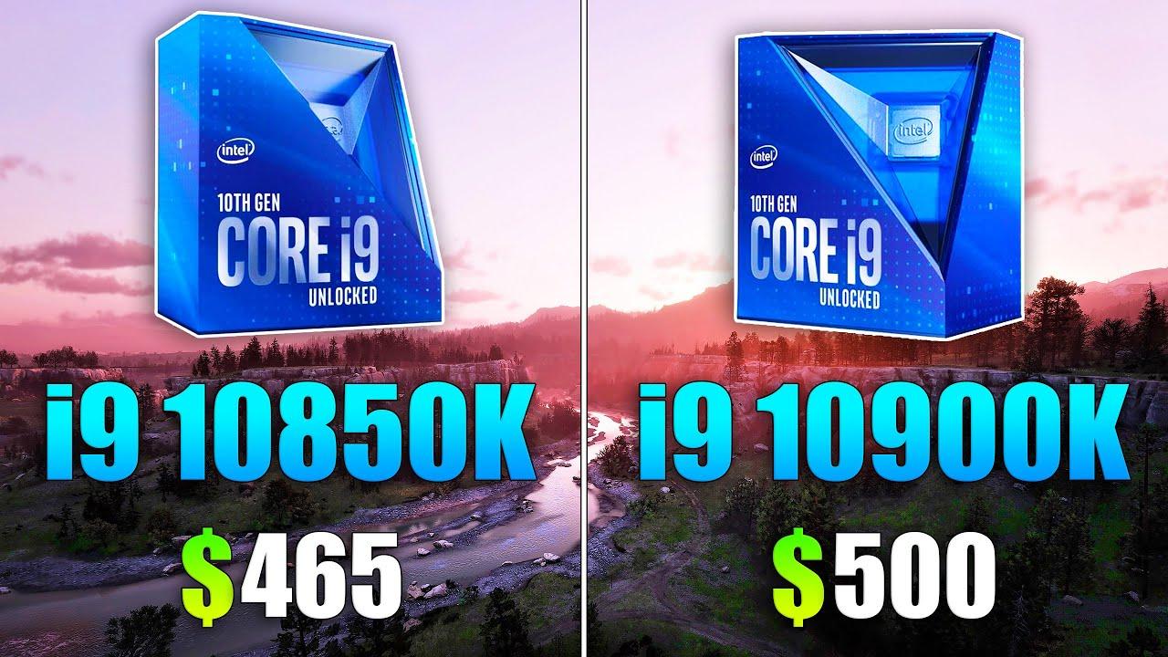 Core i9 10850K vs Core i9 10900K Test in 10 Games