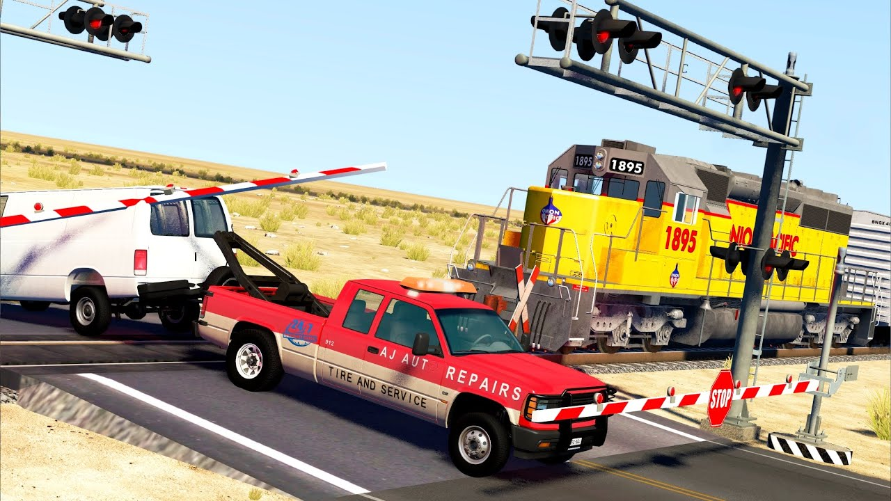 Train Accidents 16 | BeamNG.drive