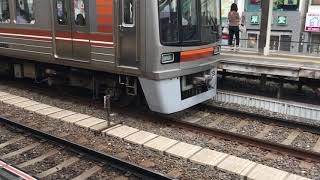 淡路駅 大阪市交通局 66系 普通北千里行き発車 普通天下茶屋行き到着