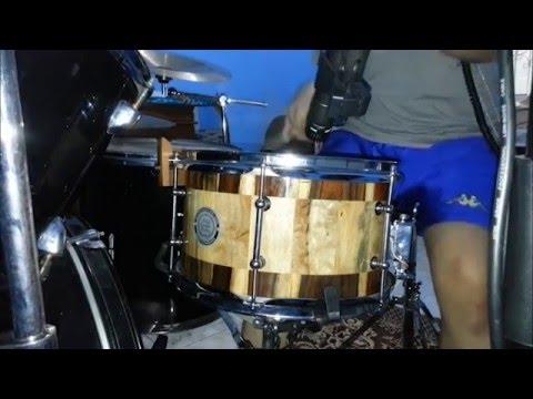 metal drumming w 12 x7 ahay solid snare drum tongkat israfil kick trigger youtube. Black Bedroom Furniture Sets. Home Design Ideas