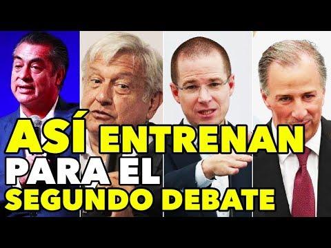 Así ENTRENA cada CANDIDATO para el Segundo Debate Presidencial - TIJUANA BC
