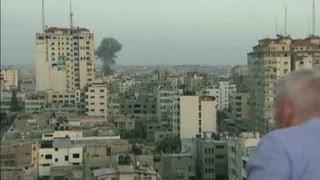 Gaza explosion shocks Anderson Cooper
