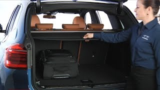 X3 Cargo Cover Removal And Storage | BMW Genius How-To
