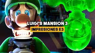 GAMEPLAY LUIGI'S MANSION 3 E3 2019: Así luce en SWITCH