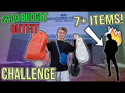 Best $200 Streetwear Outfit - Holiday Shopping CHALLENGE!