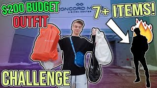 outfit shopping challenge