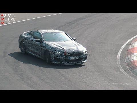 2019 BMW M850i SPIED (DRIFTING) TESTING AT THE NÜRBURGRING