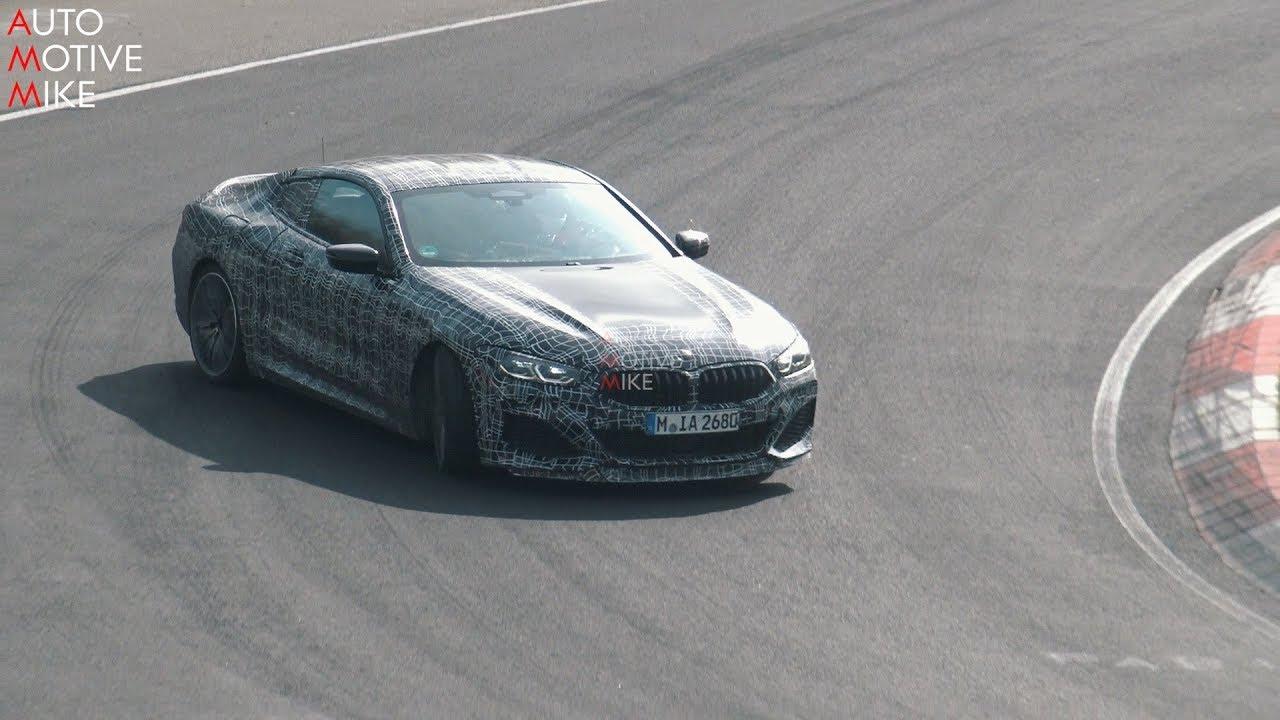 BMW M850i xDrive ใหม่ ขับเคลื่อน 4 ล้อ วิ่งทดสอบขับดริฟท์ในสนามก่อนเปิดตัว