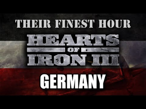 Hearts of Iron 3   Their Finest Hour - Germany 18 - YouTube