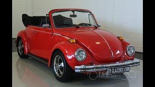 Volkswagen Beetle 1303 1977 -VIDEO- www.ERclassics.com
