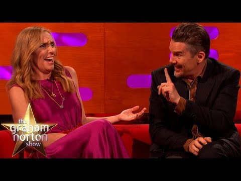 Ethan Hawkes Co-Star Literally Died On Stage  | The Graham Norton Show