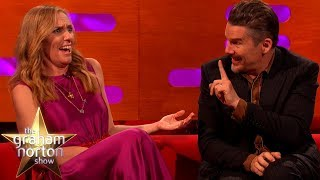 Ethan Hawke's Co-Star Literally Died On Stage  | The Graham Norton Show