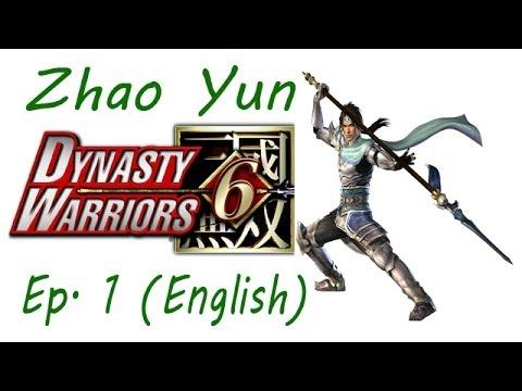 Dynasty Warriors 6 Zhao Yun Ep. 1 Chapter 1 - Battle Of Hu Lao Gate (Eng. Ver)