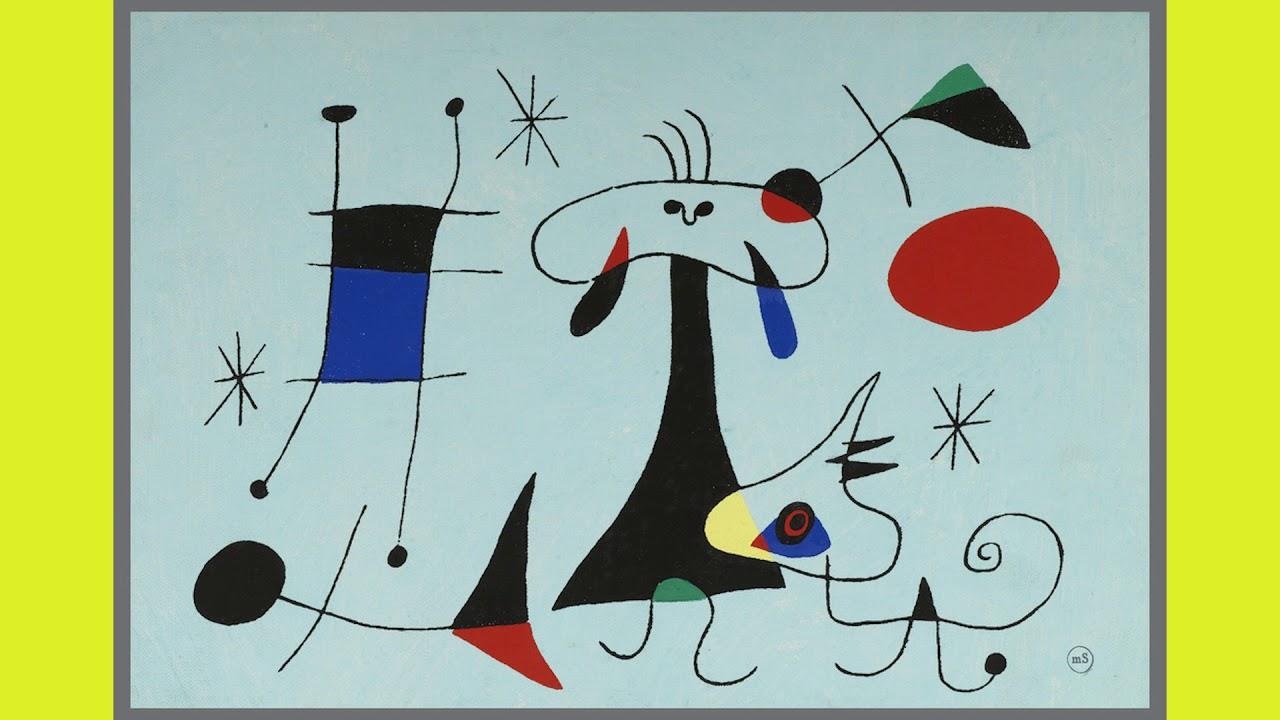 Joan Miró Biografía Para Niños Youtube