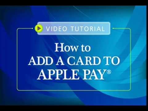 First Northern Bank and Trust - How to Add a Card to Apple Pay Video Tutorial