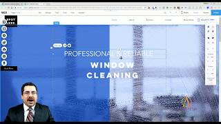 Cleaning Services Template from Wix - Web Design - Tutorial