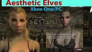 Skyrim SE Xbox One/PC Mods|Aesthetic Elves
