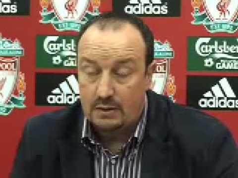 Benitez sagade ferguson i teve