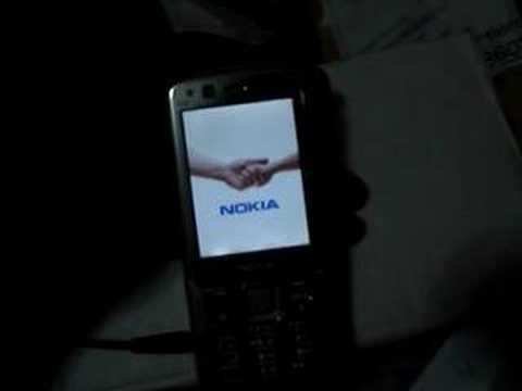 Boot screen Nokia N82