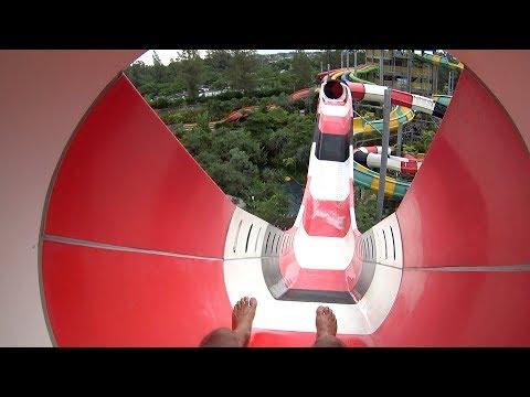 Coaster Volcano Water Slide At Jogja Bay Waterpark