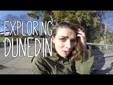 Exploring Dunedin, New Zealand