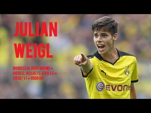 JULIAN WEIGL ● Borussia Dortmund ● Goals, Assists, Skills ● 2016/17 ● 1080 HD