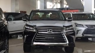 2016-2018 Lexus LX570 Sport Plus | The top luxury SUV | A full detail start up review