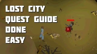 Runescape 2007 Lost City Quest Guide - Quest Guides Done Easy - Framed