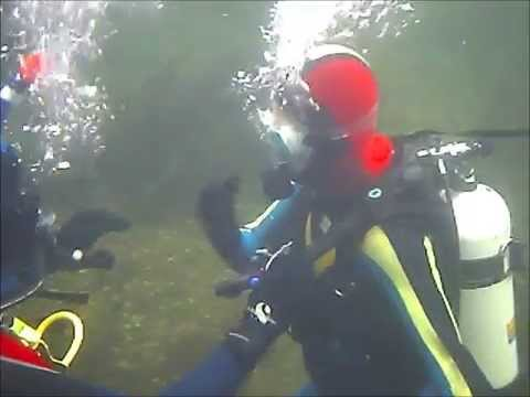 Diving in Loch Carron with Kasia & Damian