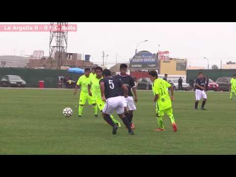 Final Liga de Futbol de Punta Negra: Argolla vs Bulls