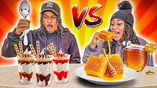 sticky-vs-smooth-food-challenge