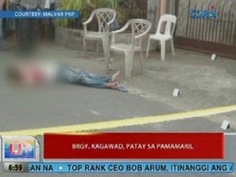 UB: Barangay kagawad sa Malvar, Batangas, patay sa pamamaril