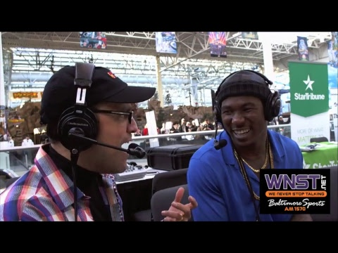 Packers running back Jamaal Williams joins Nestor on Radio Row in Minnesota Super Bowl 52