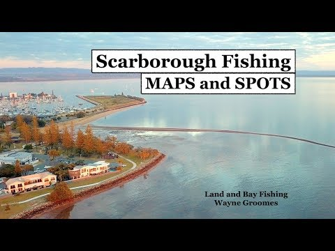 Scarborough Fishing, Shallow Reef, MAPS And SPOTS