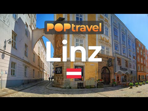 Walking in LINZ / Austria 🇦🇹- 4K 60fps (UHD)