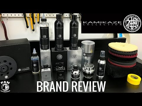 KAMIKAZE COLLECTION Car Detailing Products: Brand Review !