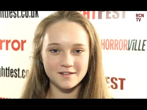 Isabelle Allen  Let's Be Evil Premiere