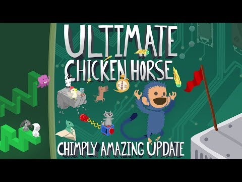 Ultimate Chicken Horse Launching on SWITCH! — Clever