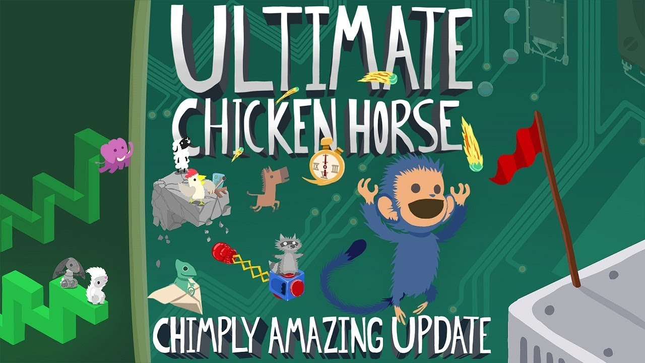 Ultimate Chicken Horse Coming to Switch on September 25 with